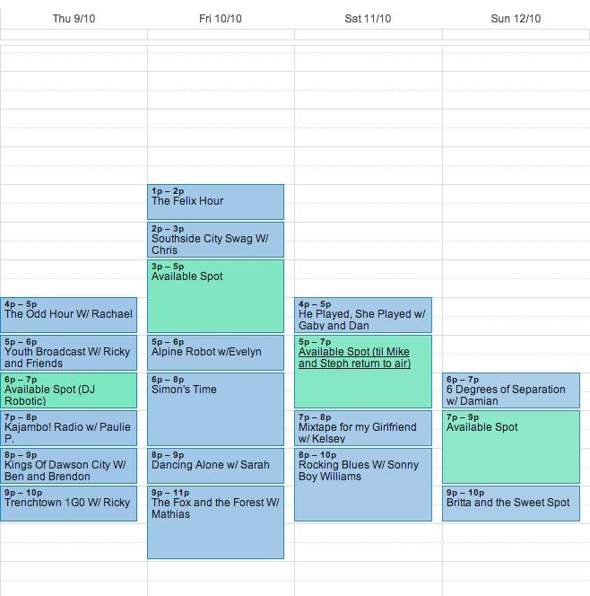 CFYT-Schedule-Oct-9-12