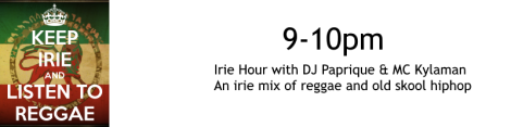 irie hours sched